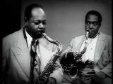 Charlie Parker and Coleman Hawkins