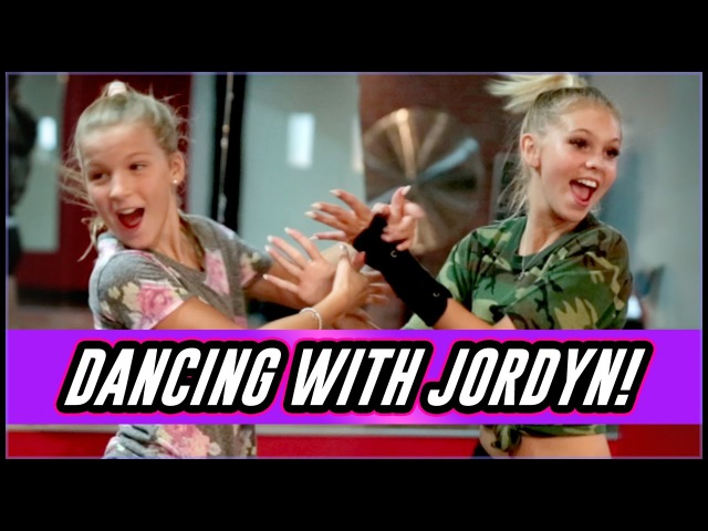 Jordyn Jones Dance Rehearsal- Sit Still Look Pretty- Daya