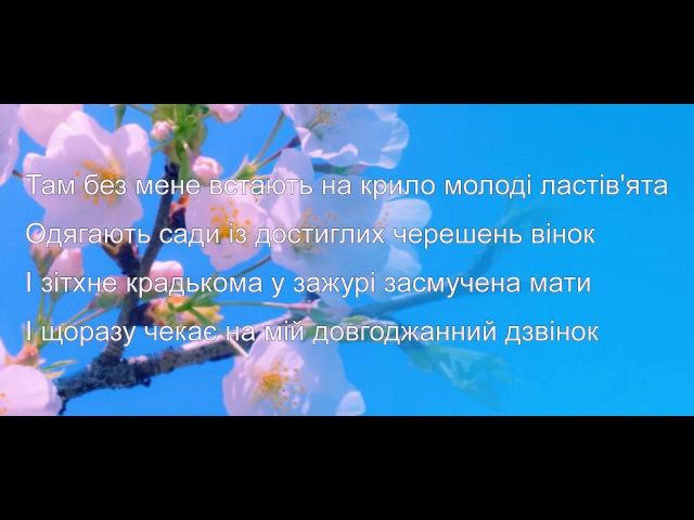 Чужина -Українська пісня