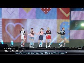 레드벨벳 Red Velvet [4K 고정 직캠]Dumb Dumb & ICC [CC]@20160903 Rock Music