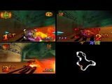 Crash Team Racing online Mystery Caves 3 Players 9 December 2016