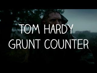Все ворчания Тома Харди в «Табу»