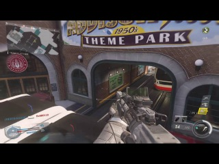 Call of Duty®: Infinite Warfare (Beta Gameplay) maps: Throwback