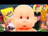 Bad Baby Вредные детки СУП ИЗ КОНФЕТ в ванне Плохие Малыши Видео для детей  Играем в дочки матери