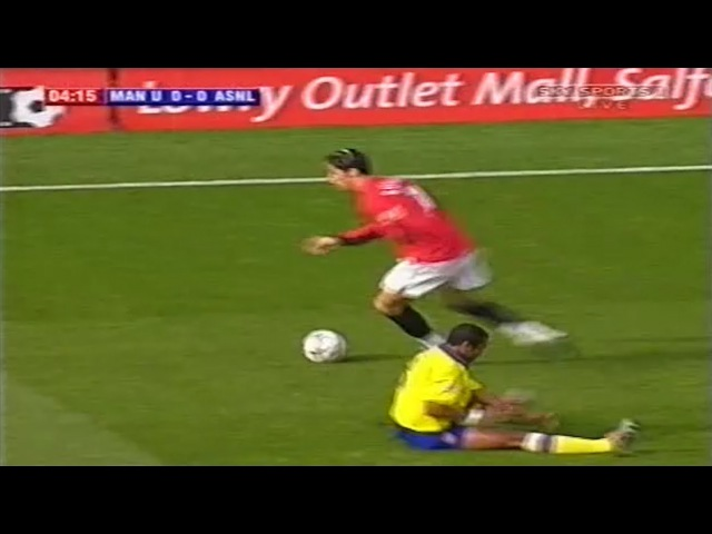 Cristiano Ronaldo vs Arsenal Home 200304 (21092003)