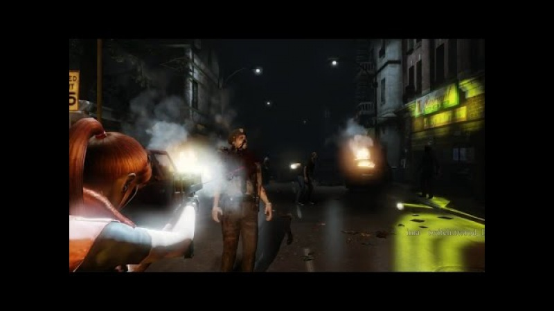 Resident Evil 2 Remake -fan UDK game OTS style- ClaireALeonB