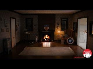 Captain America's Brooklyn Apartment Fireside Video in 4K