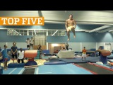 TOP FIVE Best Gymnastics &amp Acrobatics of 2016  PEOPLE ARE AWESOME 2016