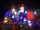 Carnevale 2017 - Sfilata notturna di carri allegorici a Villafranca ( VR ) - Night parade floats