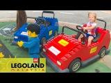 ВЛОГ #1 Едем в Леголенд РУМ ТУР комната с ПАУКАМИ Отель Лего Малайзия Lego city for children...