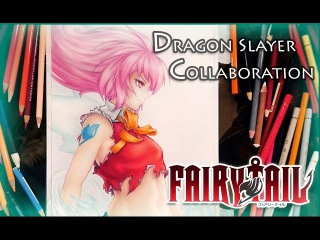 Drawing Wendy Marvell - Fairy Tail (Dragon Slayer Collaboration)