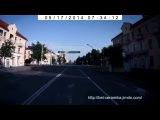 Бобруйск. Улица Минская, от Белой Церкви. באָברויסק. גאַס מינסק
