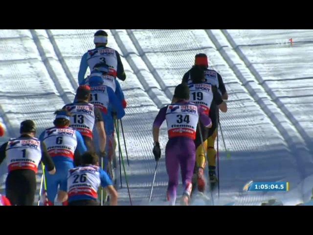 Val di Fiemme 2013 World Ski Championships Mens 50km C Mst - Full race