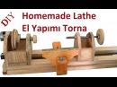 Making a Homemade Lathe El Yapımı Torna Makinası
