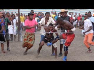 Мадагаскарский бокс. Лучшие Моменты. Как Дерутся Женщины