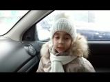 Маша Чернышева (5 лет) поет песню Вадима Самойлова Позови меня небо. дубль 2