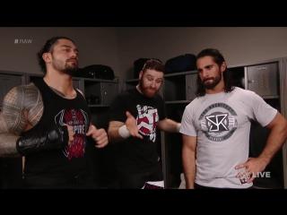 WWE.COM RAW: Sami Zayn Unites With Former Shield Members (1/16/2017)