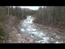 Хибины в октябре. 4 день. У реки Малая Белая.