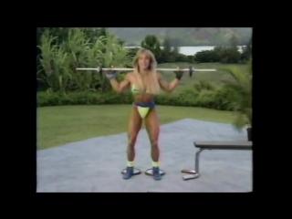 Corey Everson Tiny Green String Bikini Bodyshaping 720p