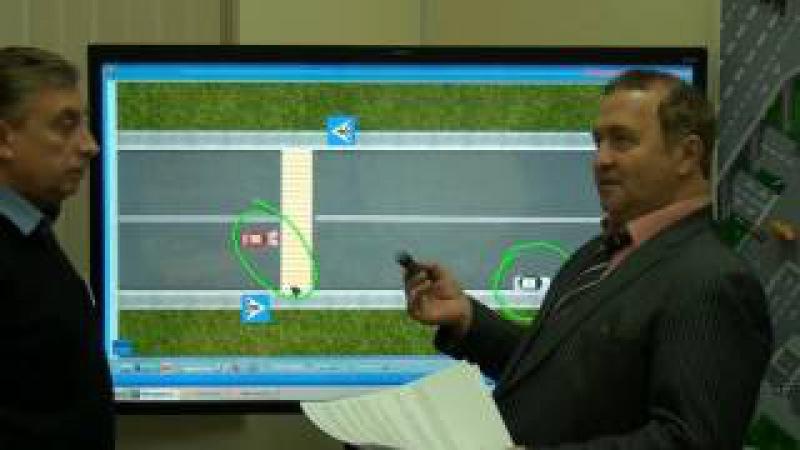 Порядок проезда пешеходного перехода ( новая программа обучения Центральной ав ...