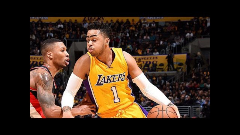 Portland Trail Blazers vs LA Lakers - Full Game Highlights | January 10, 2017 | 2016-17 NBA Season