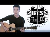 BTS - Blood Sweat &amp Tears guitar cover (instrumental)