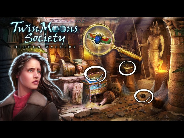 Обновление Twin Moons Society Геймплей Трейлер
