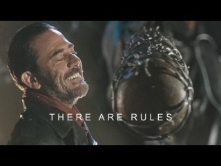 (TWD) Negan || There Are Rules