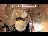 Drum Lesson - Introduction To Jazz Drumming - Part 1 The Basic Pattern