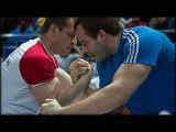 Ivan MATYUSHENKO vs Alexander GUSOV( RUSSIAN ARMWRESTLING CHAMPIONSHIP 2013)#腕相撲#팔씨름