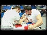 Spartak ZOLOEV vs Eldar ALISKANDEROV( RUSSIAN ARMWRESTLING CHAMPIONSHIP 2013)#腕相撲#팔씨름