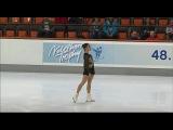 Nebelhorn Trophy 2016. Ladies - SP. Gabrielle DALEMAN