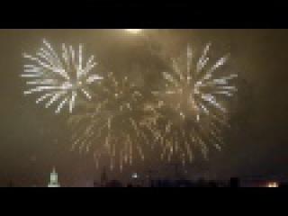 Салют в Москве 2017 Красная площадь Moscow fireworks 2017