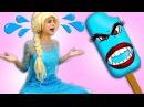 Замороженная Эльза освобождает Человека паука от плена Малифесенты 🎃 Приколы ...