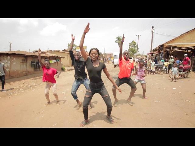 Sherrie Silver - Marimba Rija Remix Dance Choreography, ft Triplets Ghetto Kids