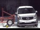 Euro NCAP Mercedes Benz CITAN 2013 Crash test