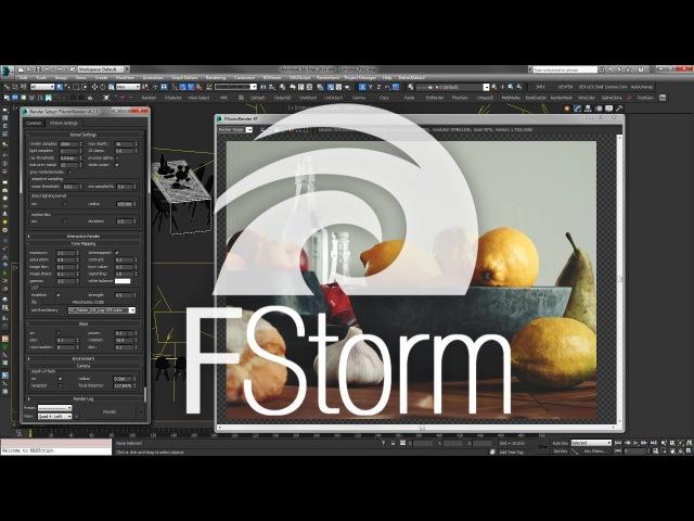 FStorm Render Introducción Español