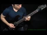 Juan Tobar - Metal Guitar Exercise # 1 + TABS