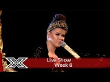 Saara Aalto goes Abba with Winner Takes it All!  Live Shows Week 8  The X Factor UK 2016