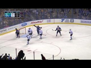 Сент-Луис - Сан-Хосе 3-2. . Обзор матча НХЛ