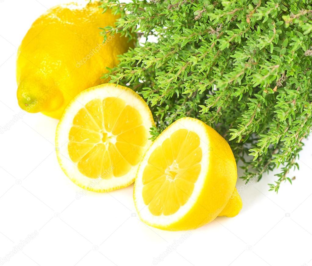 Маска от акне с тимьяно-лимонным соком
