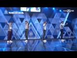 [PERF.] 170414 YG KPlus Boys – EP.2 Produce 101 @ Mnet Official