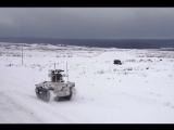 Применение боевых роботов «Соратник» и «Нерехта» на тактико-специальном занятии во взаимодействии с мотострелками