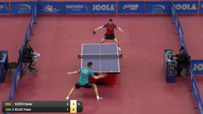 2017 Qatar Open Highlights Hunor Szocs vs Frane Kojic Qual