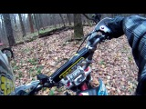 Прохват на питбайках через лес / Pitbike Kayo Enduro Day In the forest