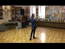 "Stefania Sokolova's rehearsal of song ""Footprints in the sand"" (Leona Lewis)"