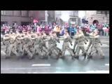 Военный парад в честь дня независимости с комментариями сотрудника пожарной сл ...