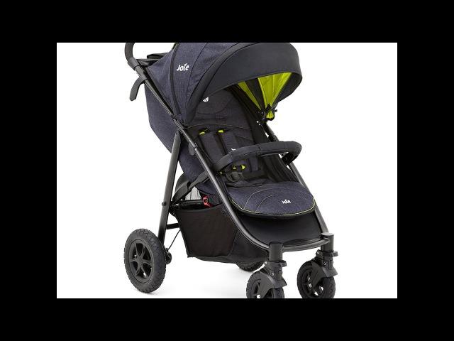 Joie Litetrax 4 Air - обзор прогулочной коляски c надувными колесами