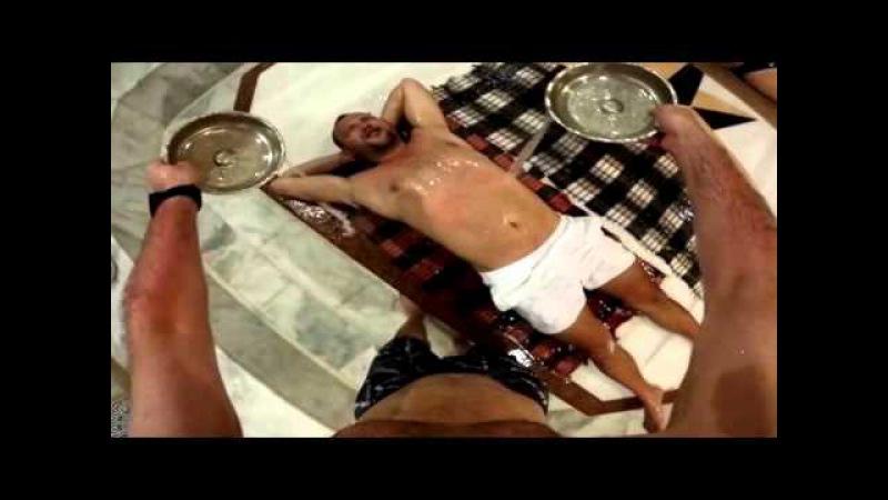 массаж с помазком в турецком хаммаме