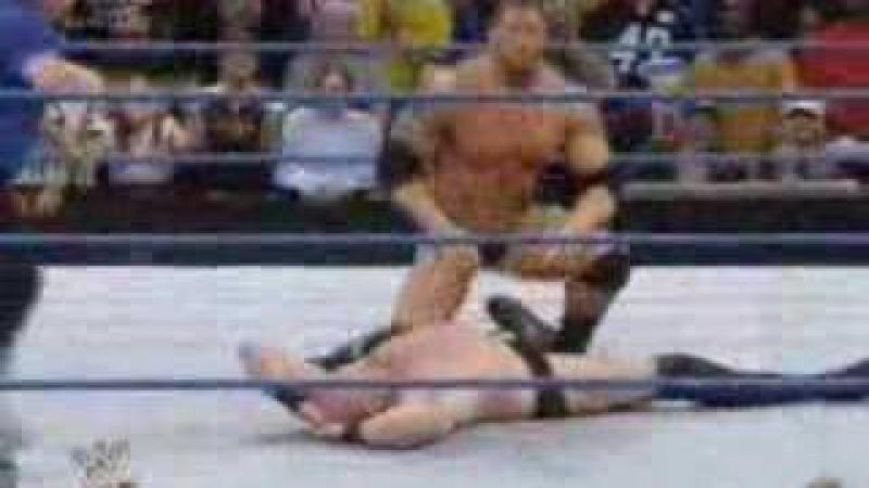 Batista vs snitsky smackdown 28/3/08